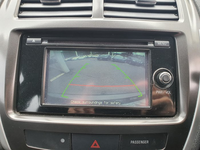 2013 Mitsubishi ASX XB MY14 Brown