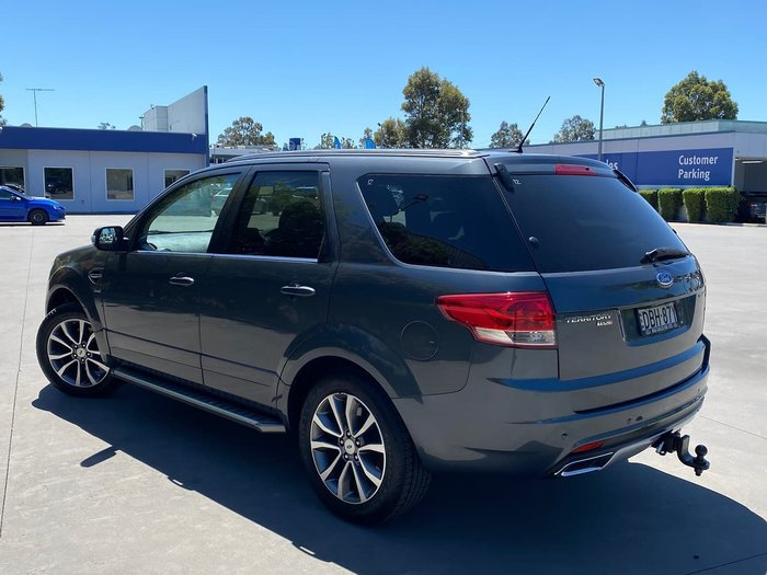 2015 Ford Territory Titanium SZ MkII Four Wheel Drive Grey