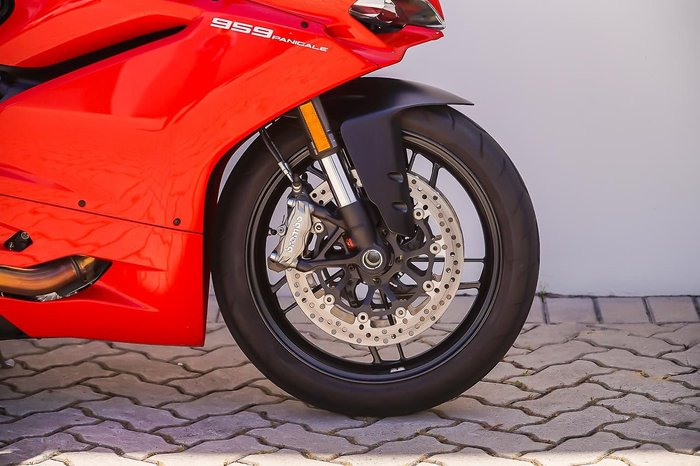 2018 DUCATI 959 PANIGALE Red