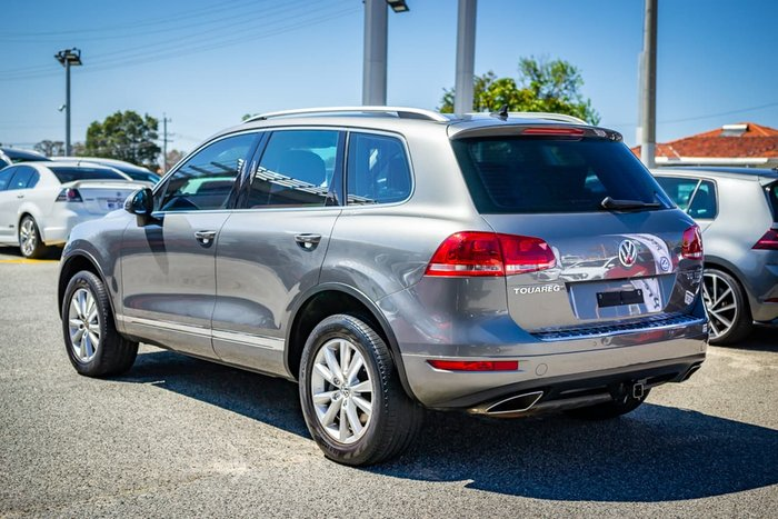2014 Volkswagen Touareg 150TDI 7P MY15 Four Wheel Drive Grey