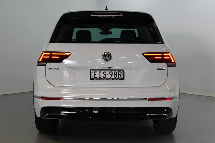 2020 Volkswagen Tiguan 162TSI Highline 5N MY20 Four Wheel Drive White