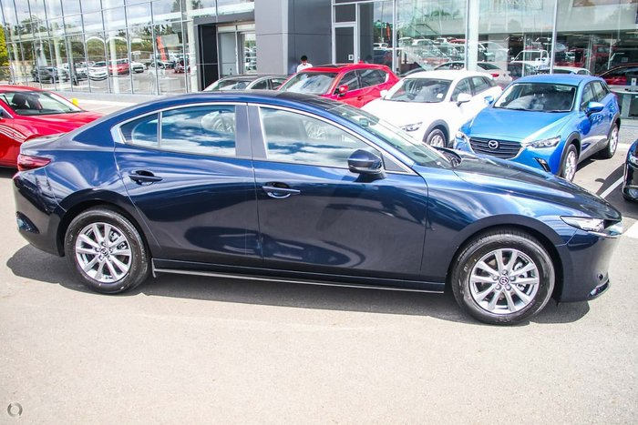 2020 Mazda 3 G20 Pure BP Series Blue