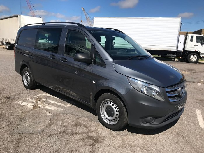 2016 MERCEDES-BENZ VITO 114 BLUETEC CREW CAB 5 SEATER Grey