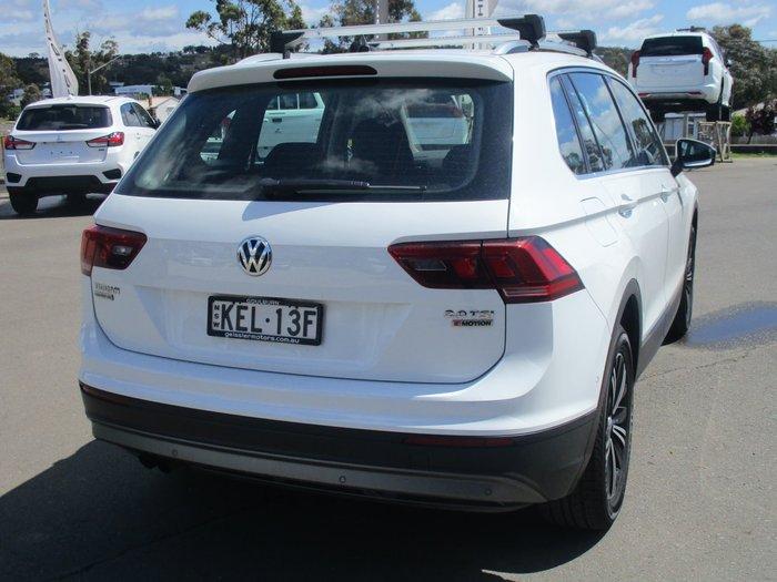 2017 Volkswagen Tiguan 132TSI Adventure 5N MY18 Four Wheel Drive White