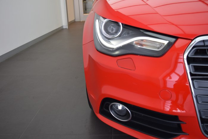 2010 Audi A1 Ambition 8X MY11 Red