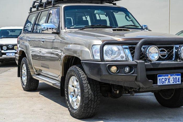 2012 Nissan Patrol ST GU 8 4X4 Dual Range Gold