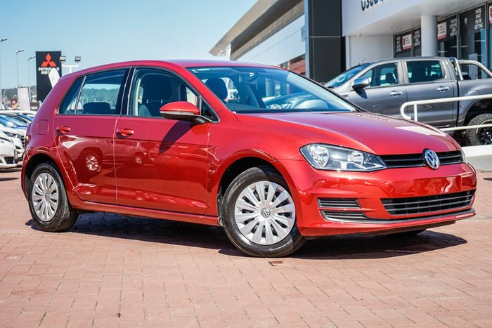 2014 Volkswagen Golf 90TSI 7 MY15 Red