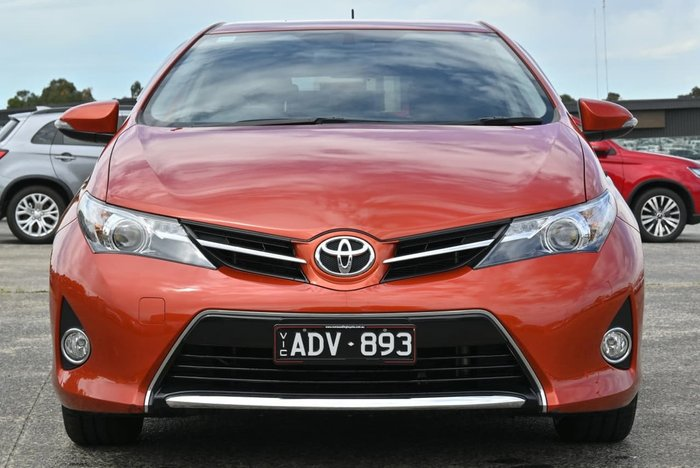 2015 Toyota Corolla Ascent Sport ZRE182R Orange