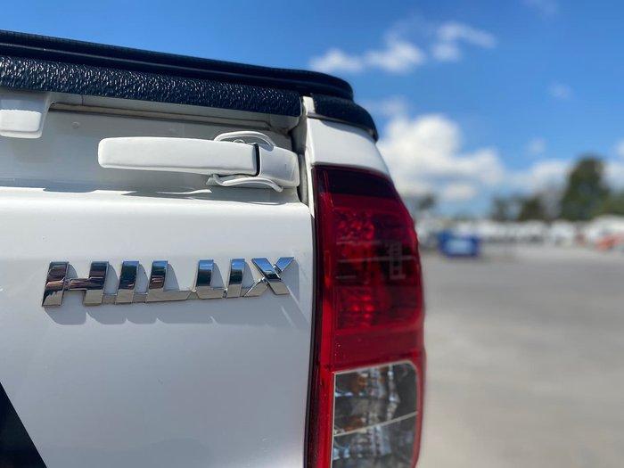 2015 Toyota Hilux SR Hi-Rider GUN136R White
