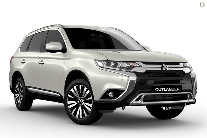2020 Mitsubishi Outlander Exceed ZL MY20 4X4 On Demand White