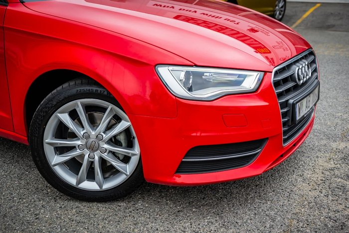 2014 Audi A3 Attraction 8V Red