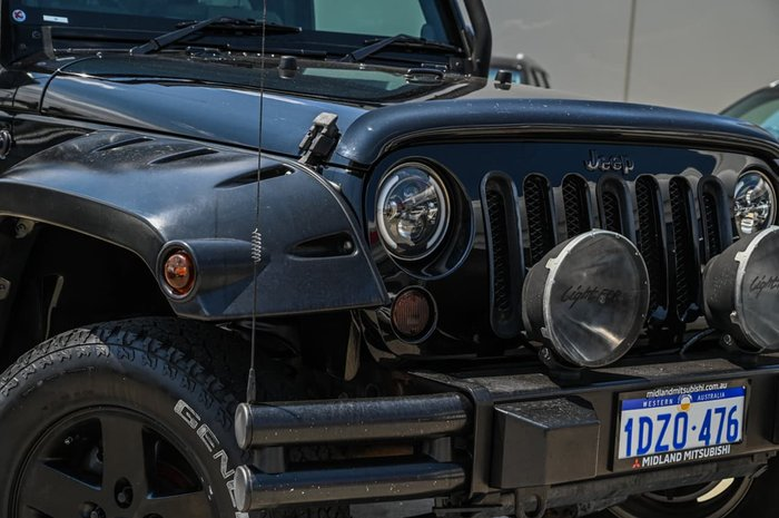 2009 Jeep Wrangler Sport JK MY10 4X4 Black