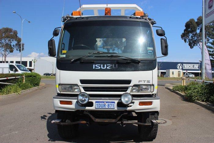 2001 ISUZU FTS750 WHITE