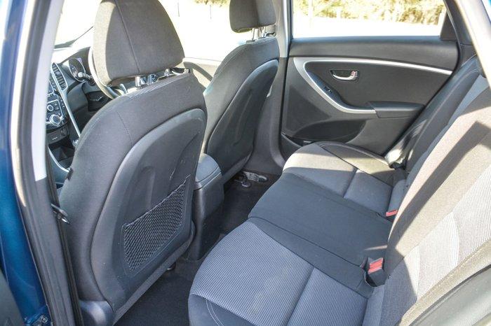 2014 Hyundai i30 Active GD2 MY14 Blue