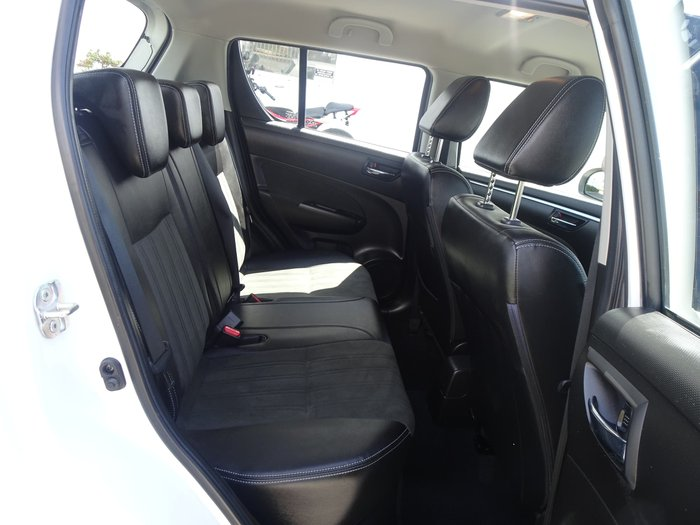 2016 Suzuki Swift GLX Navigator FZ MY15 White