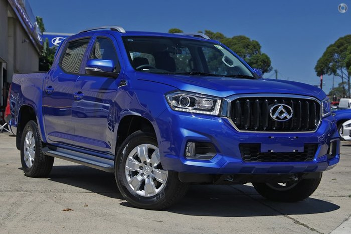 2020 LDV T60 PRO SK8C 4X4 Dual Range Blue