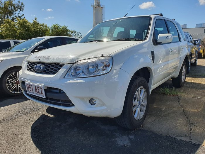 2011 Ford Escape ZD MY10 4X4 On Demand White
