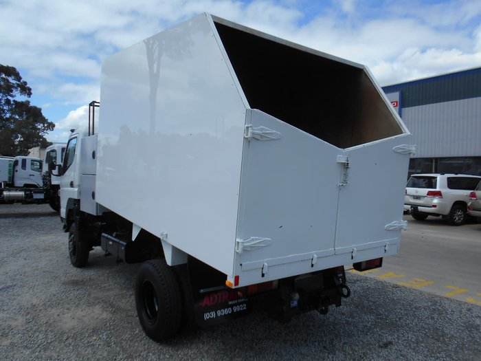2012 FUSO CANTER FG 4X4 WHITE