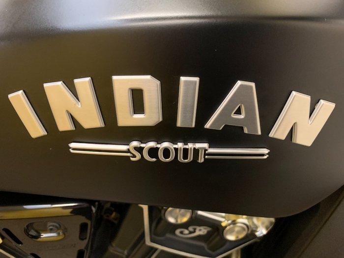 2019 Indian SCOUT BOBBER THUNDER BLACK Black Smoke