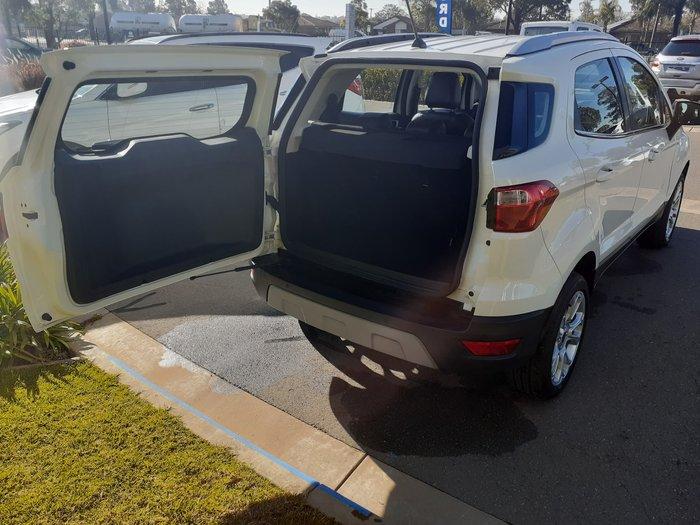 2019 Ford EcoSport Titanium BL MY19.25 White