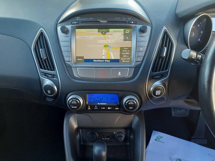 2014 Hyundai ix35 Elite Series II MY15 4X4 On Demand Sleek Silver