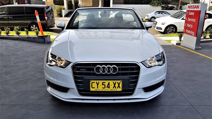 2014 Audi A3 Ambition 8V MY15 Four Wheel Drive White