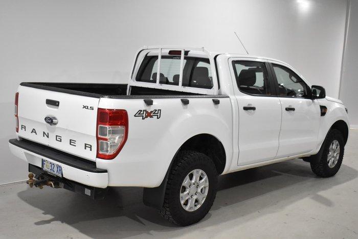2017 Ford Ranger XLS PX MkII 4X4 Dual Range Frozen White