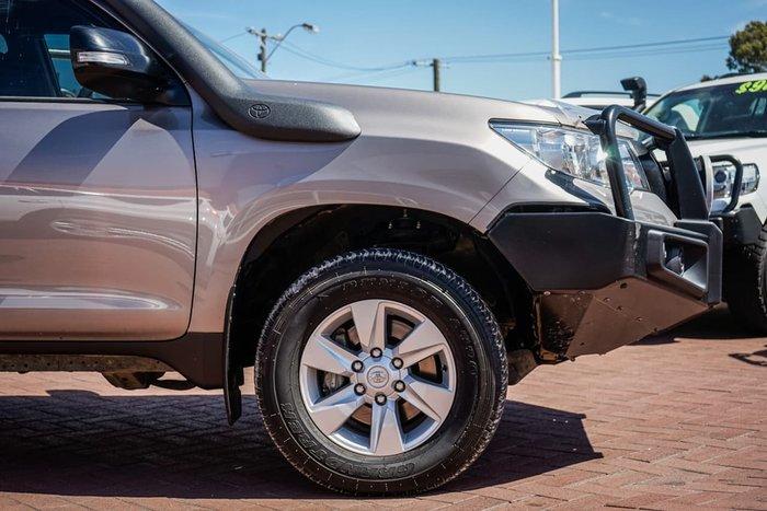 2018 Toyota Landcruiser Prado GX GDJ150R 4X4 Dual Range Bronze