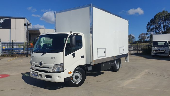 2020 HINO 300 SERIES 917 MT 3780 WIDE PANTECH - NEW MODEL White