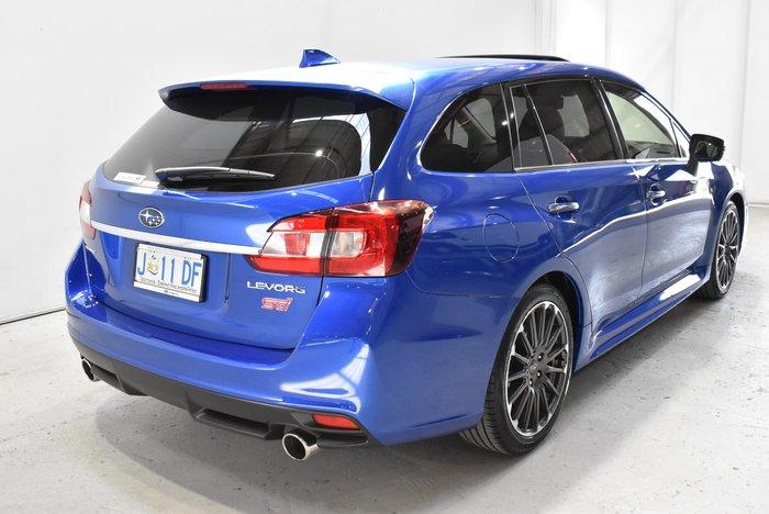 2020 Subaru Levorg 2.0 STI Sport V1 MY20 Four Wheel Drive Blue