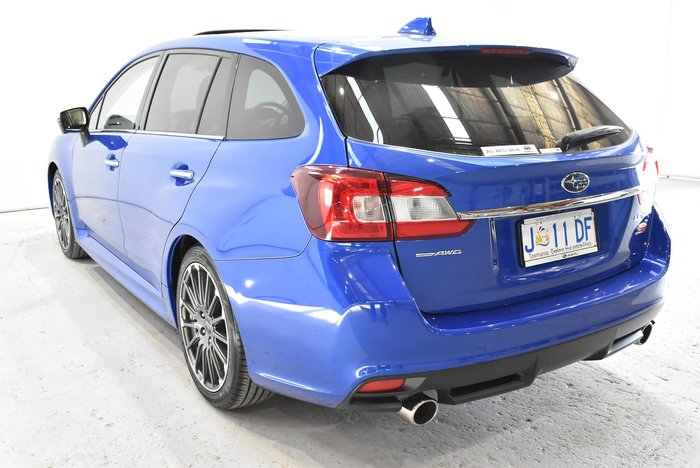 2020 Subaru Levorg 2.0 STI Sport V1 MY20 Four Wheel Drive Blue