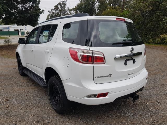 2016 Holden Colorado 7 LT RG MY16 4X4 Dual Range white