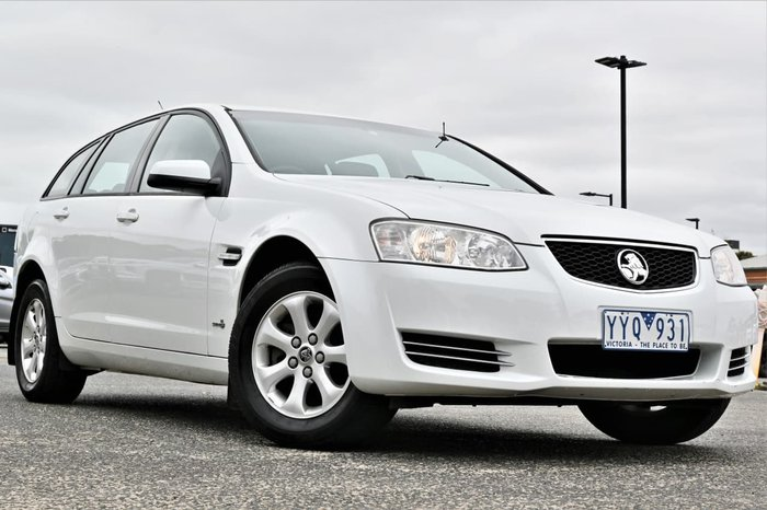 2012 Holden Commodore Omega VE Series II MY12 White