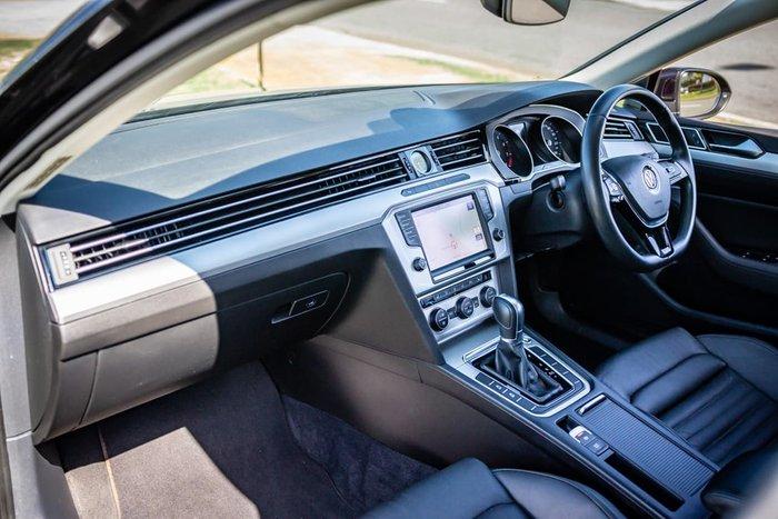 2015 Volkswagen Passat 132TSI Comfortline B8 MY16 Black