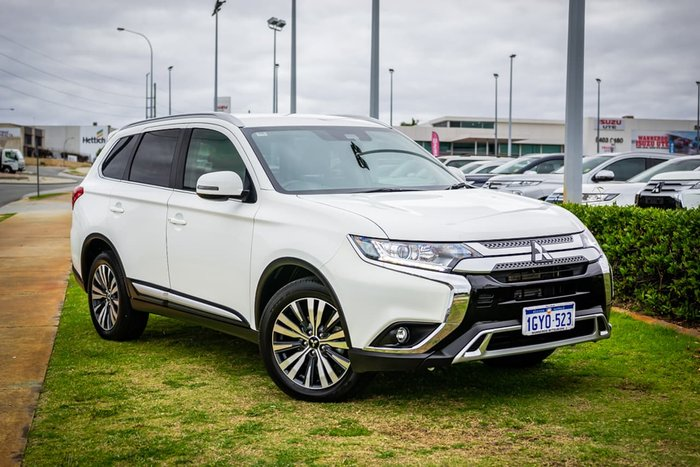 2020 Mitsubishi Outlander LS ZL MY20 4X4 On Demand White