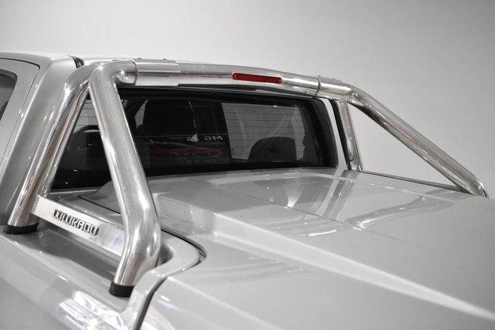 2014 Holden Colorado LTZ RG MY14 4X4 Dual Range Silver