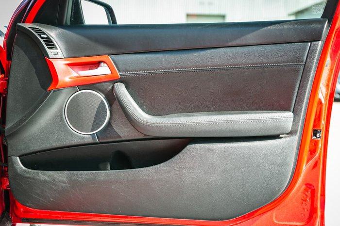 2010 Holden Commodore SS V Redline VE Series II Red