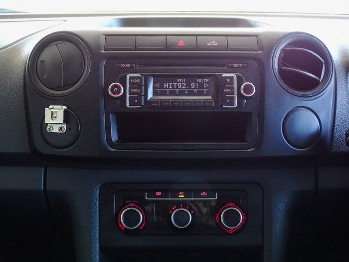 2012 Volkswagen Amarok TDI400 2H MY12 4X4 Dual Range White