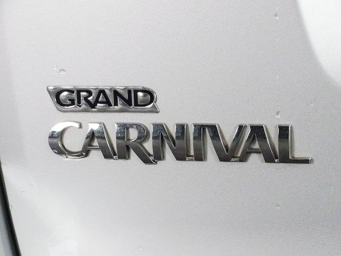 2013 Kia Grand Carnival Si VQ MY13 Silver