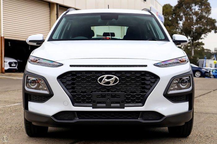 2020 Hyundai Kona Go OS.3 MY20 White