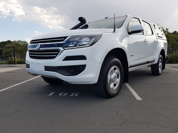 2017 Holden Colorado LS RG MY17 4X4 Dual Range White