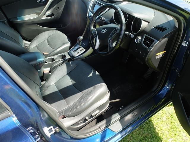2013 Hyundai Elantra Premium MD2 Santorini Blue