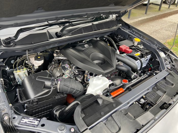 2020 Mazda BT-50 XT TF 4X4 Dual Range Grey