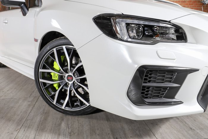 2020 Subaru WRX STI spec.R V1 MY20 Four Wheel Drive Crystal White