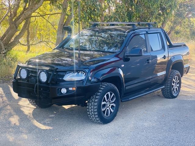 2015 Volkswagen Amarok TDI420 2H MY16 Black