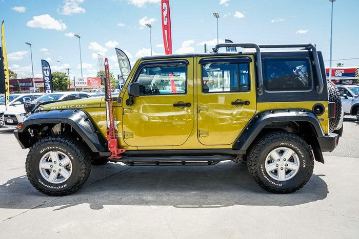 2008 Jeep Wrangler Unlimited Rubicon JK MY08 4X4 Green