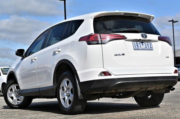 2016 Toyota RAV4 GX ASA44R 4X4 On Demand White