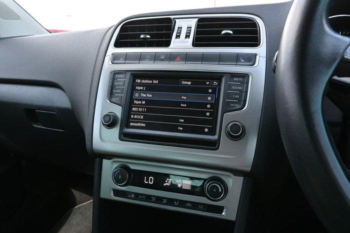 2017 Volkswagen Polo 81TSI Urban+ 6R MY17.5 White