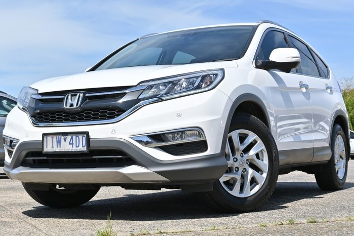 2016 Honda CR-V VTi-S RM Series II MY17 White
