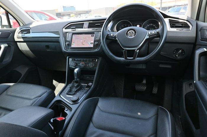 2017 Volkswagen Tiguan 162TSI Highline 5N MY17 Four Wheel Drive White